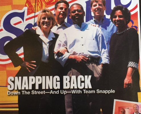 Snapple Team - Beverage World cover