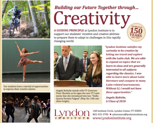 Lyndon Institute Advertising